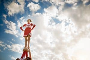 High School Cheerleading Can Lead to Catastrophic Injuries