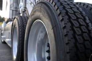 Truck Company Liability for Flying Tire Debris